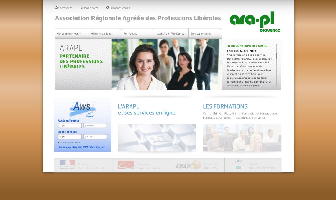 Création site web en flash et xhtml