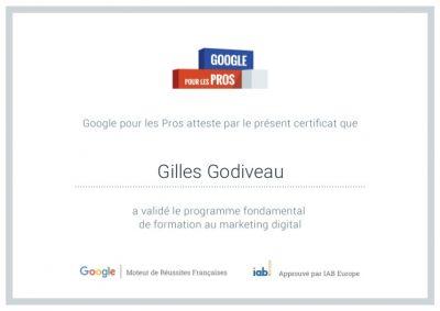 JUSTIF_Certificat Google PRO