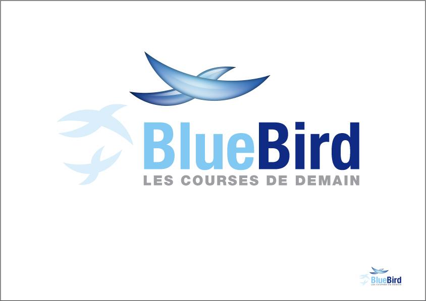 création logo coursier
